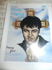 ELVIS PRESLEY ELVIS WORLD EW #45 BILL E. BURK FAN CLUB MAGAZINE FALL '97 MEMPHIS