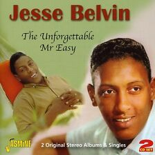 Unforgettable Mr Easy - Jesse Belvin (2011, CD NEUF)2 DISC SET