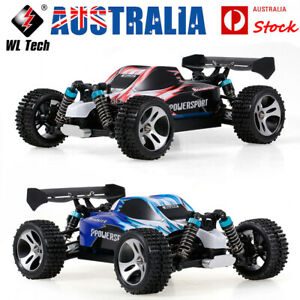 Wltoys A959 1:18 RC Car 2.4G Off Road RC Trucks 4WD 45KM/H High Speed RTR