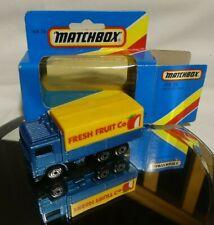 """Matchbox - Superfast -  MB 26 Volvo Tilt Lorry """"Fresh Fruit Co""""  OVP"""