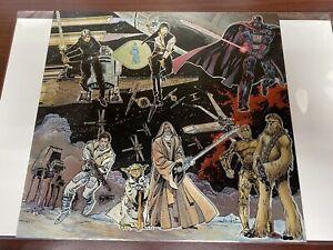 UNCUT STAR WARS GALAXY SHEET INSERTS 1993 TOPPS FOIL 6 Card Sheet Uncut Simonson