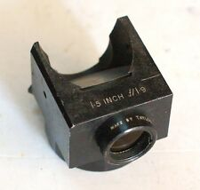 TAYLOR TAYLOR & HOBSON Ltd England 1.5INCH f/1.9 Angle Mirror Lens Shipping Free