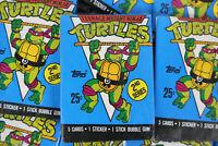 Topps Teenage Mutant Ninja Turtles Cards, Second Series, One Wax Pack, 1990