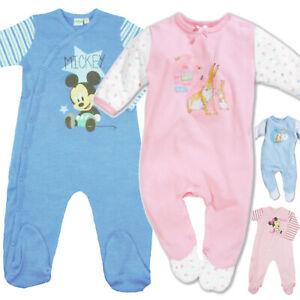 DISNEY Baby Spieler Strampler Jumpsuit Overall MINNIE MAUS Gr 3-6Mon NEU
