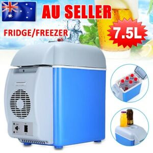 Portable Mini 7.5L Car Fridge Freezer Cooler Warmer 12V Camping Refrigerator AU