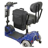 Wheelchair & Mobility Scooter Pannier Armrest Bag - Black