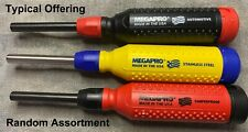 Lot of 3 assorted New unused Megapro Multi-Bit Screwdrivers Free shipping
