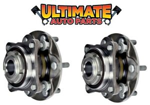 Front Wheel Bearing Hubs 4x2 / 2wd (Pair Left and Right) for 05-17 Toyota Hilux