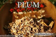 PLUM Wood for Smoking Food, BBQ Smoker Wood Chips,for Smoker HUGE 8 LITRE BAG