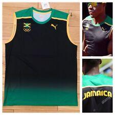 Puma Jamaica Pro Elite 2012 London Olympics Running Singlet Top Usain Bolt New