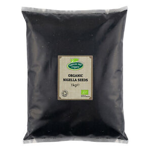 Organic Nigella Seeds (Black Seeds, Black Cumin, Black Caraway, Nigella Sativa)