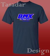 Old School Bmx Action Retro T shirt Men's Clothing Tee Gildan S-2XL