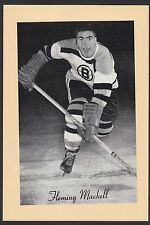 1945-1964 Beehive Group II 2 Hockey Fleming Mackell Boston Bruins Single