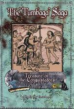 The Tumbaga Saga Treasure of the Conquistadors - signed, Spanish silver ingots