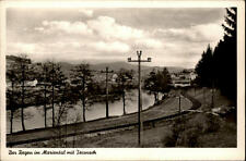 TEISNACH um 1950 Der Regen im Mariental a.d. Bahnstrecke Bahngleise alte AK