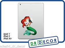Adesivo Sirenetta per Apple Ipad 1- Ipad 2 - Ipad Air Stickers  Ipad