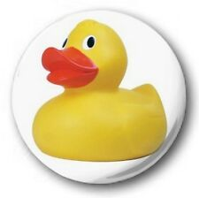 RUBBER DUCK - 1 inch / 25mm Button Badge - Retro Novelty Cute
