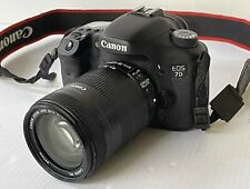 Canon EOS 7D 18.0 MP Digital SLR Camera w/ EF-S 18-135mm f/3.5-5.6 IS Lens