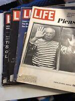 4 Vintage 1963 Life Magazines Oct.-Dec-july-Dec