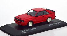 Audi Sport quattro Année 1984 Rouge 1 43 Minichamps