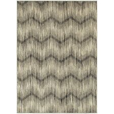 """Oriental Weavers 6301E Highlands Area Rug, Ivory/Grey, 9'10"""" by 12'10"""