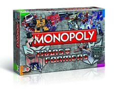 MONOPOLY - TRANSFORMERS RETRO EDITION - Winning Moves 43492 - NEU
