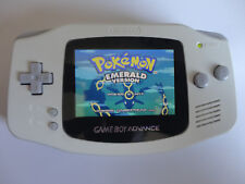 Backlit Nintendo Gba Game boy Advance Custom Backlight artic white ags 101