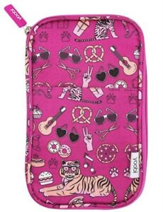 Yoobi Icons Pencil Case Organizer- PINK