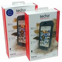 Tech21 Patriot 360 Impact Resistant Case Cover Belt Clip For iPhone 6S & 6S Plus
