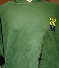 """Mondetta Olive Green Hoodie with pockets """"Spirit of Unification"""" Brazil"""