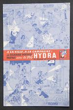 BUVARD PUBLICITAIRE ANCIEN : PILE HYDRA - DUBOUT