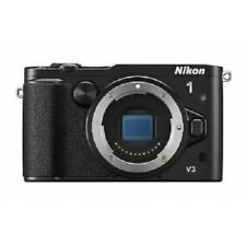 USED Nikon 1 V3 18.4 MP Mirrorless Body Black Excellent FREE SHIPPING