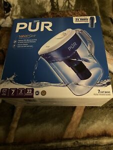 PUR MaxIon 7 Cup Water Pitcher Filtration System With Filter