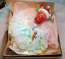Vintage Chiquita Bermuda Souvenir Doll in traditional dress clothes collectible