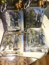 The X Files Series 1 1998 Action Figure McFarlane Toys Lot of 4  Sealed boxes