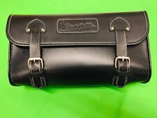 VESPA BLACK CASE ROLL BAG FOR LUGGAGE CARRIERS AND LUGGAGE RACKS VESPA LOGO