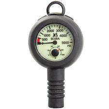 Xs Scuba Back-To-Back Pressure Gauge / Compass Combo