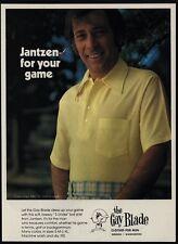 1975 THE GAY BLADE Clothes Co. For Men - JANTZEN - DAVE MARR - Golf - VINTAGE AD