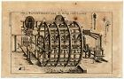 Antique Print-CALTROP-FIREWORKS-LONDON BRIDGE-WATERWORKS-Buys-1770
