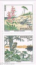 1999 Zweden 2122Du-2123Do Europa CEPT Nationale parken