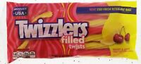 Twizzlers Sweet & Sour Filled Twists Cherry Citrus Punch Licorice Candy 11oz bag