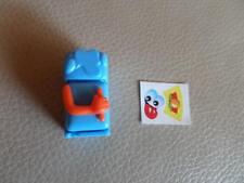 2004 Kinder Ü-Ei  Mr. Eiskalt KÜHLSCHRANK + Die Küche steht Kopf Spielzeug C-133