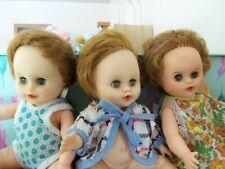 "Lot of THREE  Kellogg's Cosmopolitan Baby Ginger Dolls 7.5"""