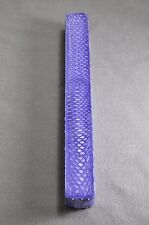 "1 EXOTIC JUMA PURPLE DRAGON 1""X 1"" X 12"" SQUARE POOL BILLIARD CUE JOINT MATERIAL"