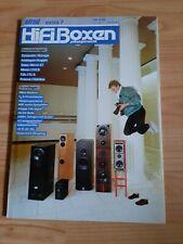 HIFIBOXEN Selbstgemacht, Elrad Extra Nr 7, Lautsprecher Selbstbau !!!