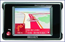 Becker Traffic Assist Highspeed 7934 Model Sat Nav