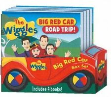 The Wiggles Big Red Car Adventures! Slipcase + 4 Board Books NEW Five Mile Press