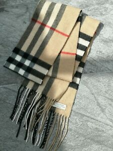 Genuine Burberry scarf 100%cashmere/BURBERRY/Designer clothings