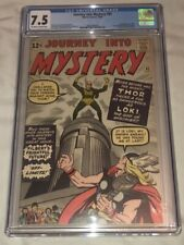 CGC 7.5 - Off White to White Pages - JOURNEY INTO MYSTERY 85 THOR 1ST LOKI