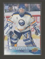 (74867) 2016-17 UPPER DECK SERIES 2 CANVAS RETIRED STARS DOMINIK HASEK #C249